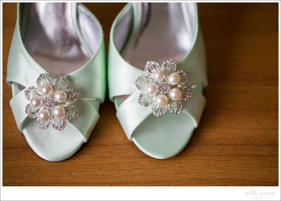 Pretty Ballerina Wedding Shoes