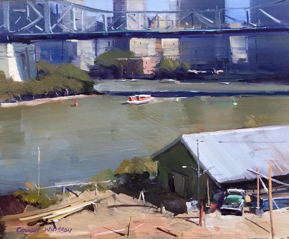 Colley Whisson Midday Shadows, Brisbane 8\