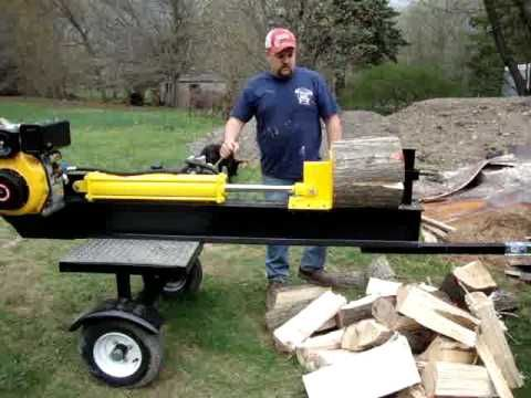 Building A Log Splitter Log Splitter Wood Splitter Hydraulic Log Splitter