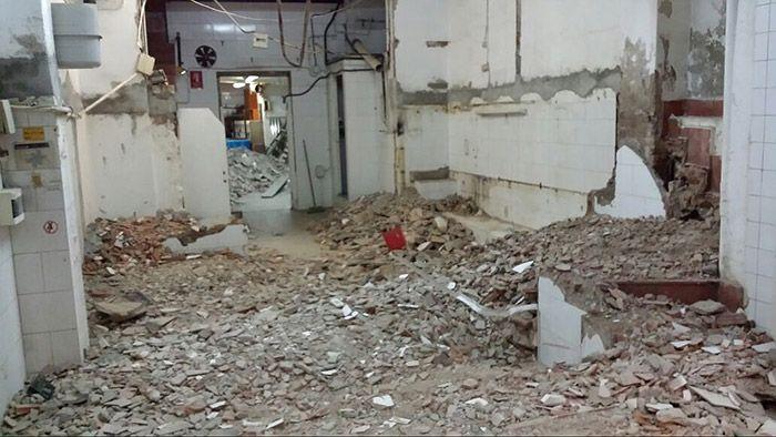 El local antes de la remodelación