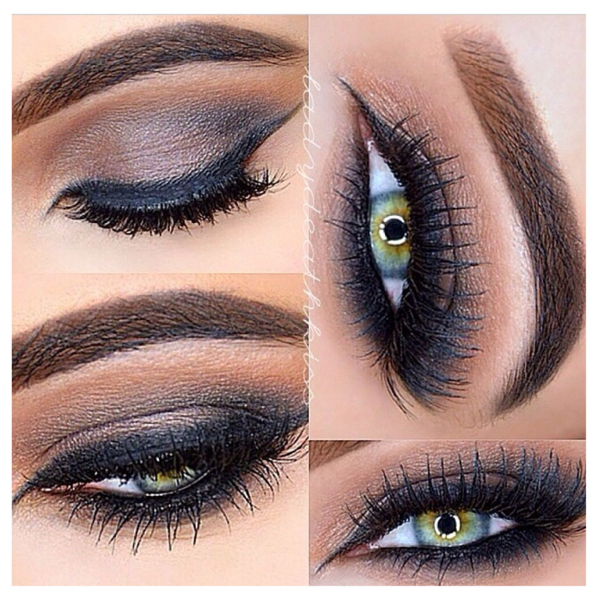 Amazing brown smokey eye. Perfect for any eye color, but ...