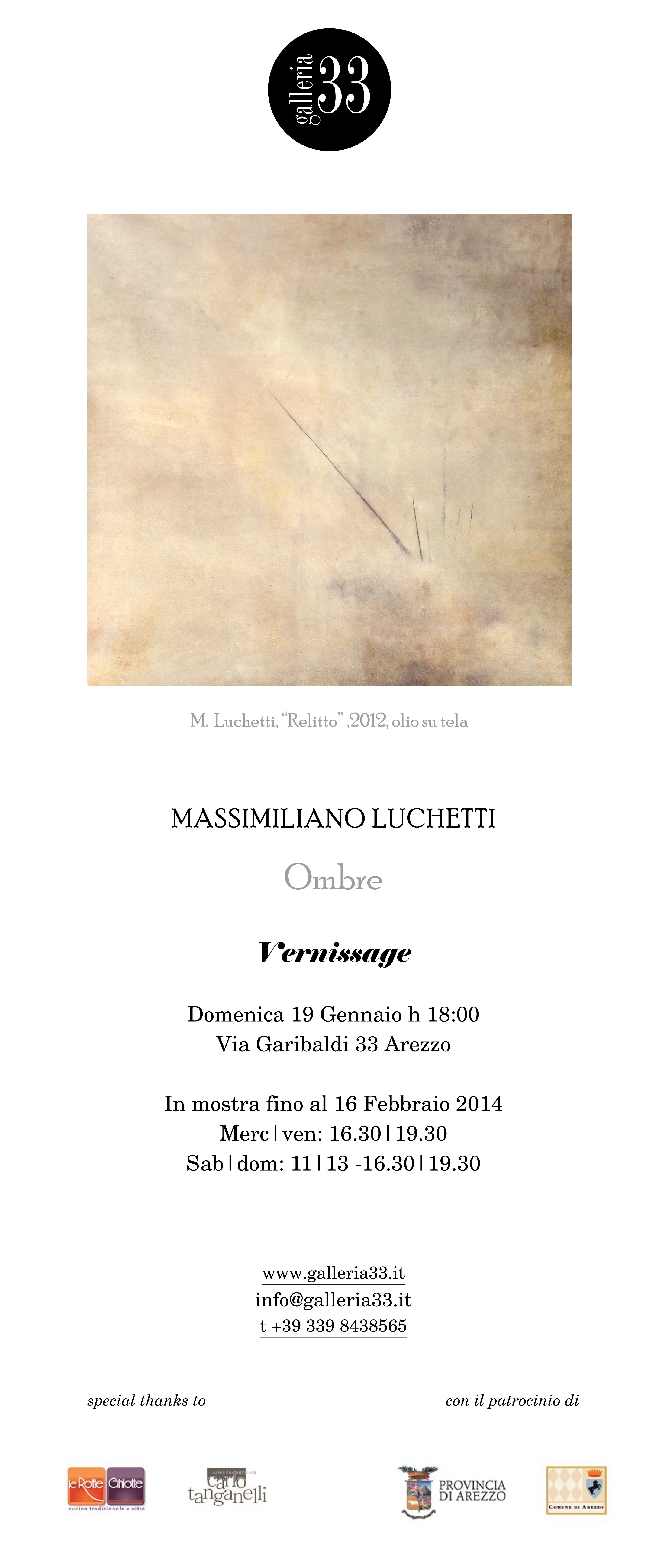 """New #exhibition at #Galleria33 #Arezzo  by Tiziana Tommei """"#Ombre""""- Massimiliano Luchetti http://omaventiquaranta.blogspot.it/2014/01/ombre-alla-33-di-arezzo-dal-19-gennaio.html"""