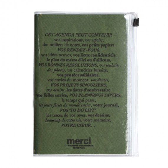 Agenda merci 2013-2014, Agenda - MERCI