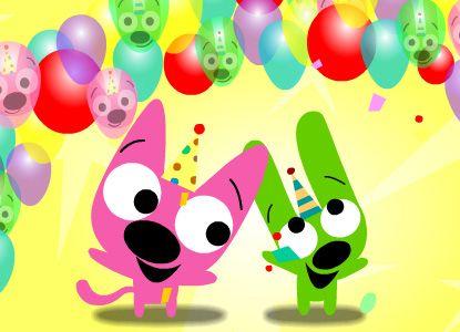 Hoops Yoyo Happy Birthday
