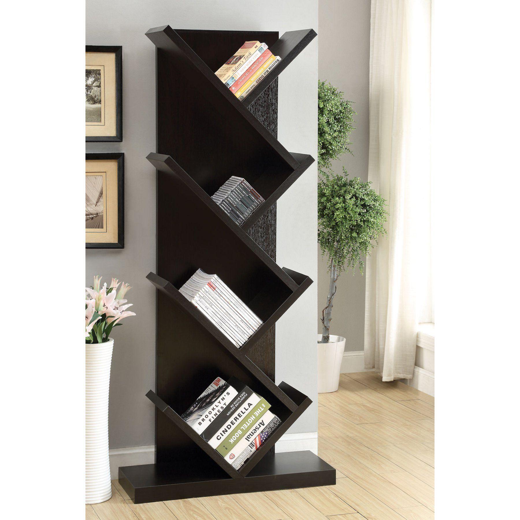 coaster bookcase estrella amazon antique nutmeg kitchen dp dining furniture com