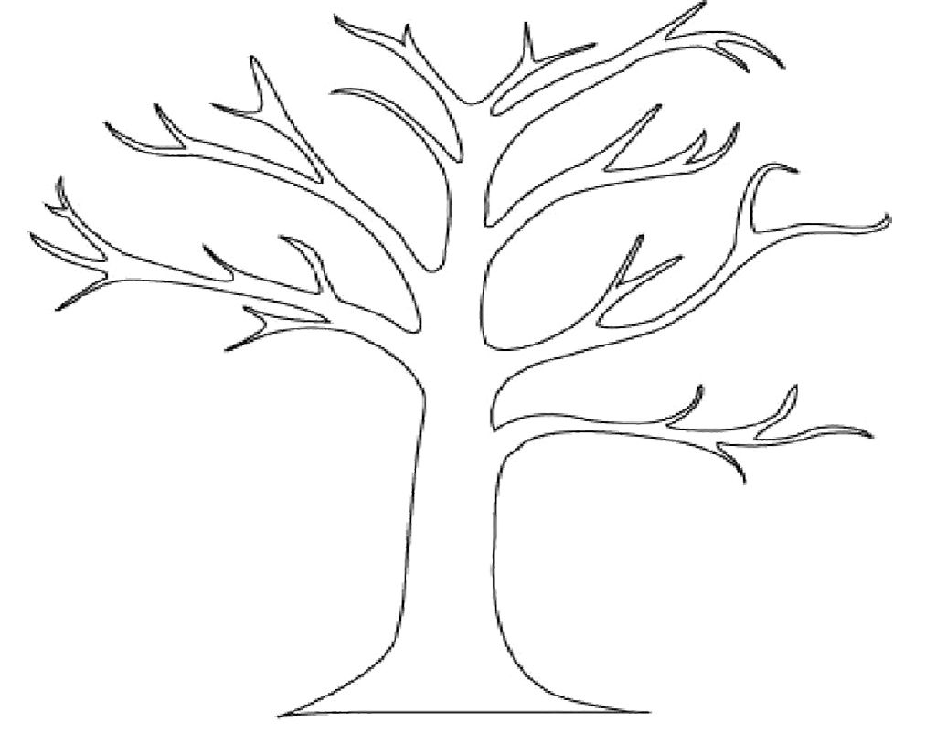 Download Tree Coloring Pages Pinturas Faceis
