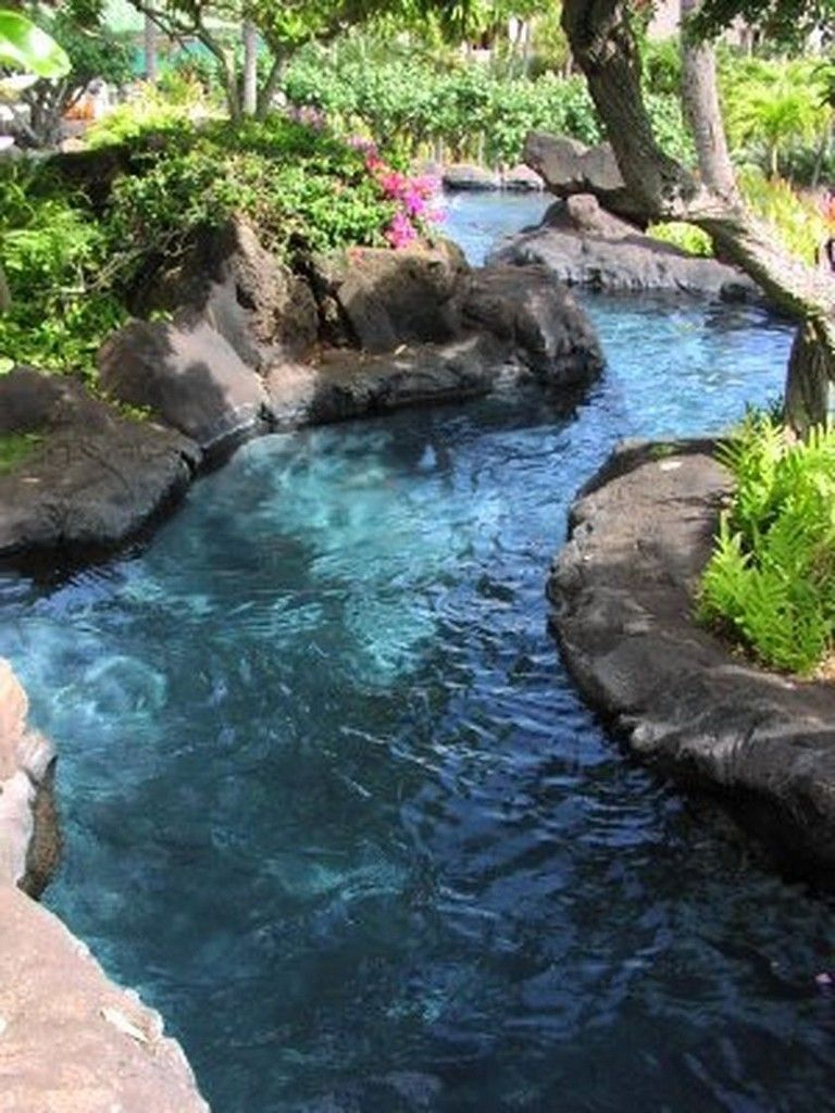 20+ Incredible Lazy River Pool Ideas That Should You Make ...