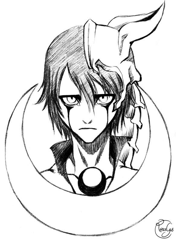 Bleach Ulquiorra Manga Anime Art Manga