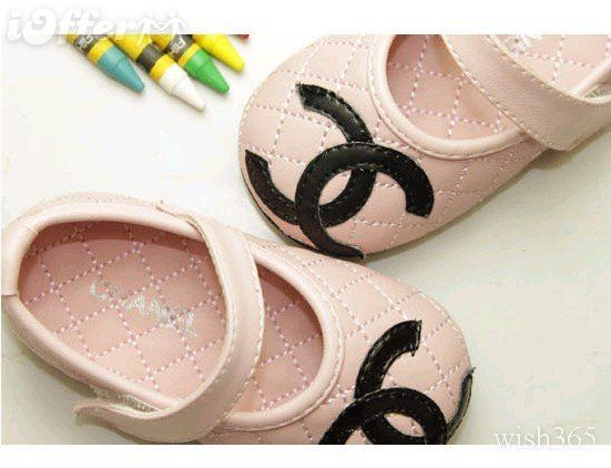 lovely pink chanel shoes for my little