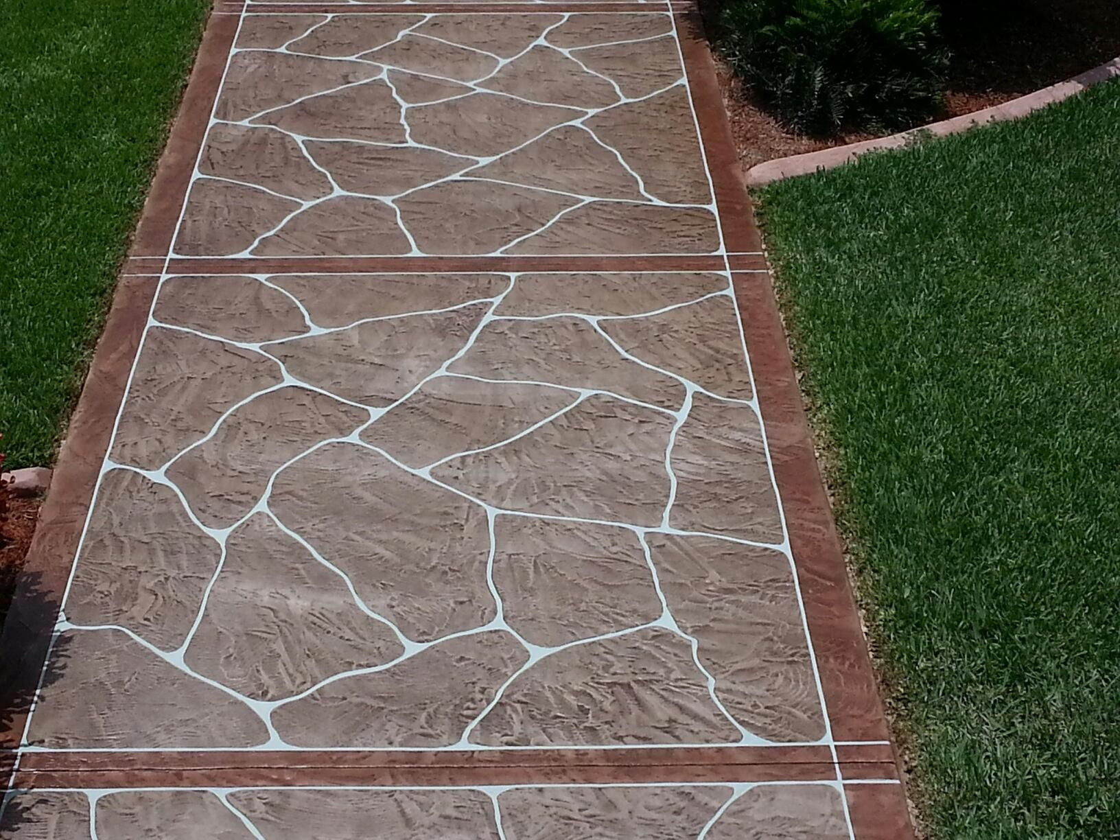 Decorative Concrete Resurfacing Is Created In Cape Coral Fl The