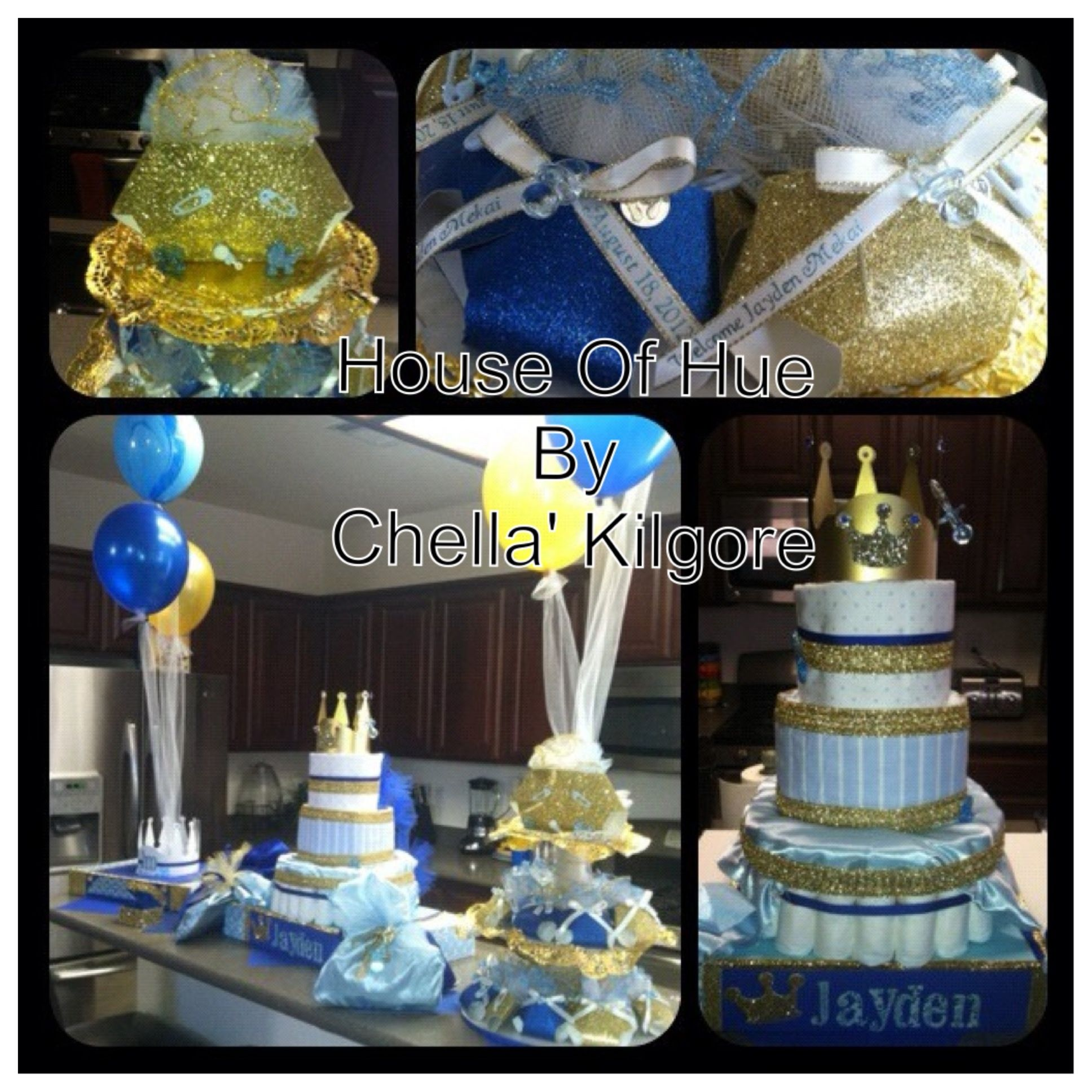 "We Heart Parties: Party Information - ""Royal Little Prince"" Baby Shower Welcoming Baby JAYDEN"