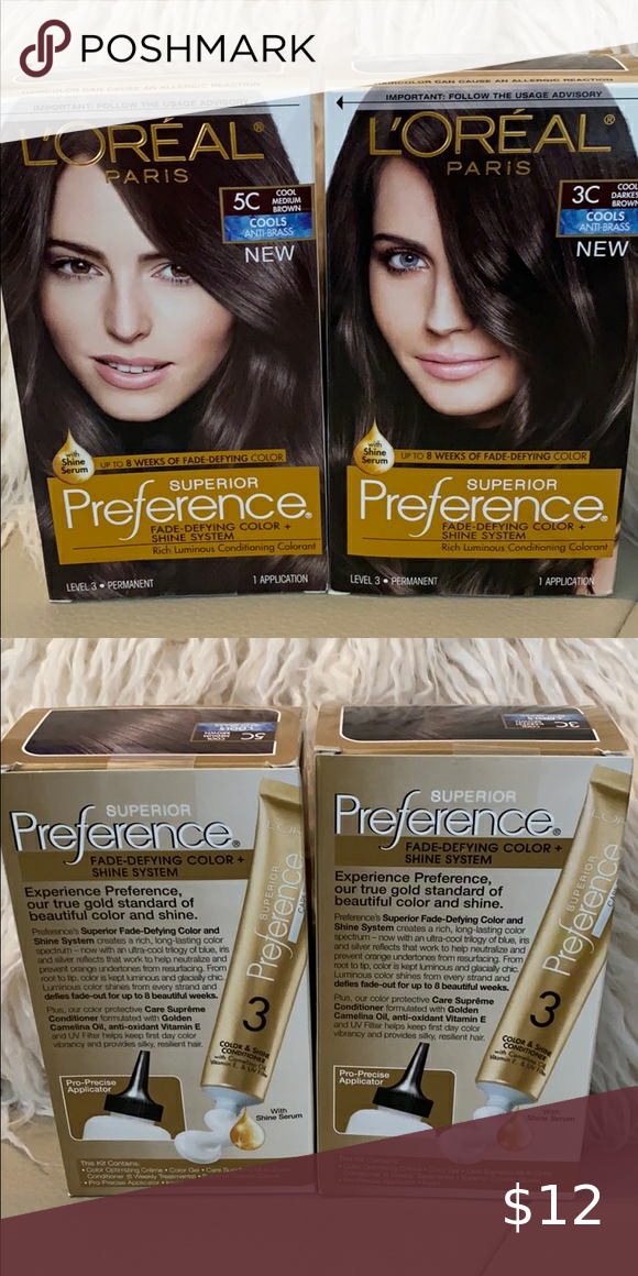 Two New L Oreal Superior Preference Hair Color Loreal Hair Color Loreal Paris