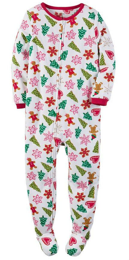 786583c73 $10 - Carter's Nwt Kid Girl 10 Fleece Footed Pajama Christmas Holiday  Blanket Sleeper #ebay #Fashion