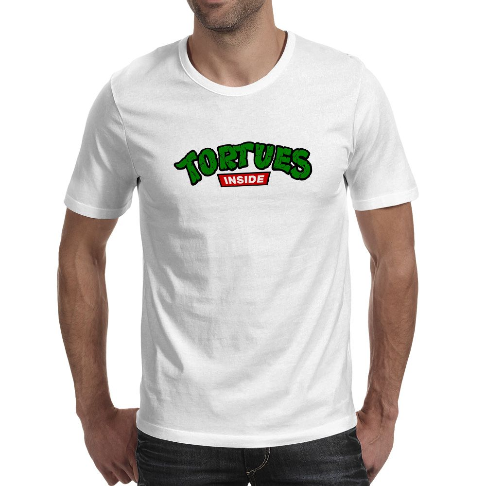 Tortues Are Turtles T Shirt Parody Logo Style Skate Rock T Shirt