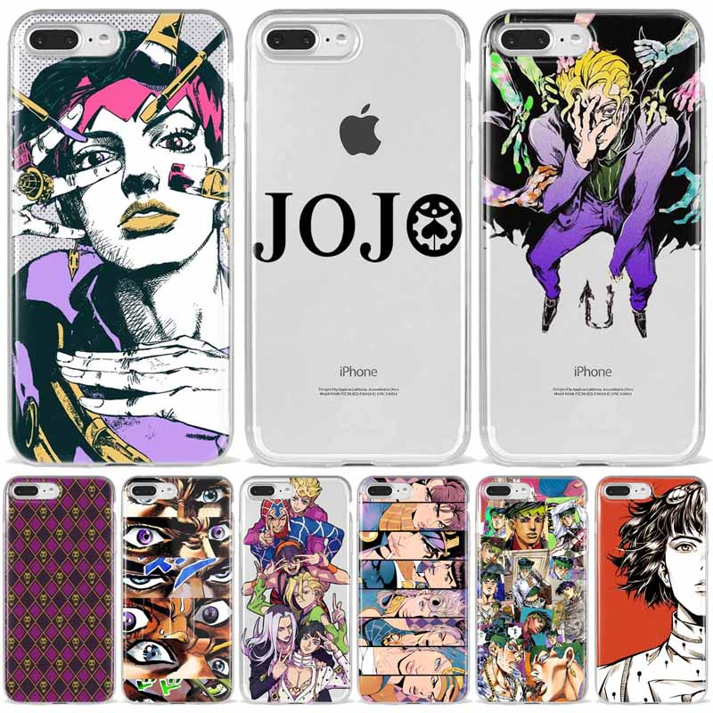 coque iphone 8 jojo bizarre adventure