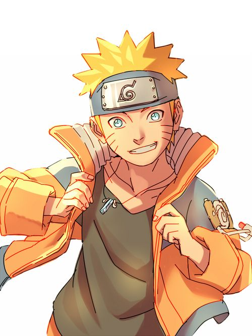 """Photo of Naruto in """"Classic Naruto"""" yeah … that's cool … my absolute favorite anime, …"""