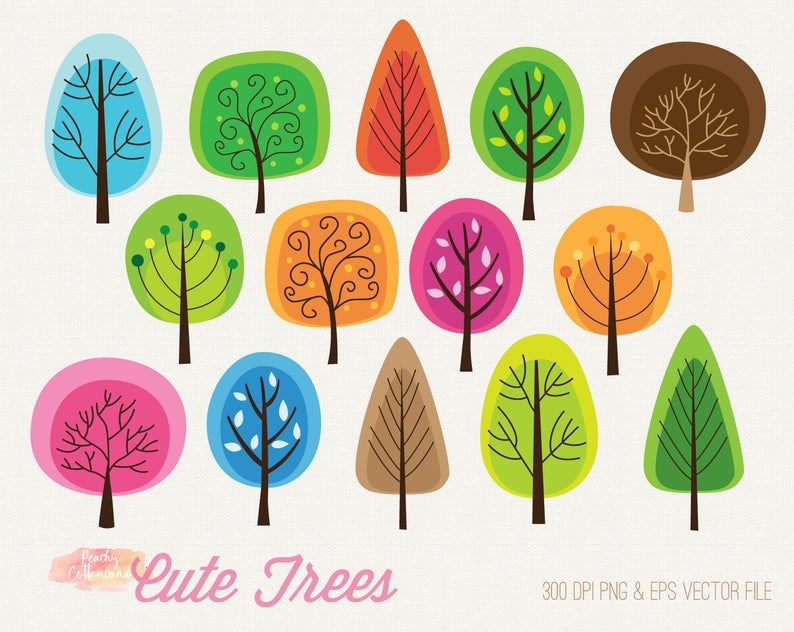 23++ Cute fall tree clipart ideas in 2021
