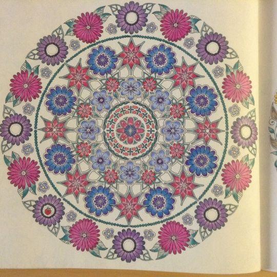 Secret garden johanna basford colouring gallery for Jardin mandala