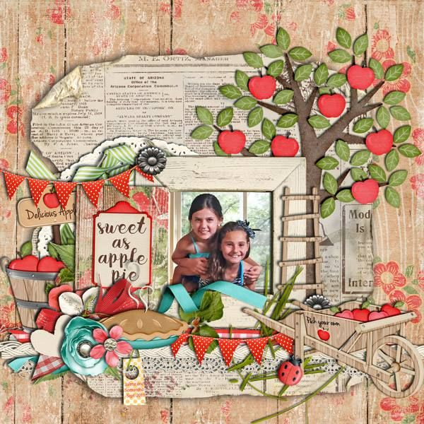The Digichick :: Collections :: Sweet As Apple Pie: The Collection by LDrag Designs