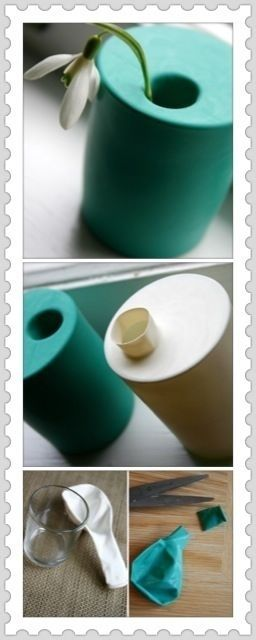 Que idéia genial! Utilidade para os copos cafonas!