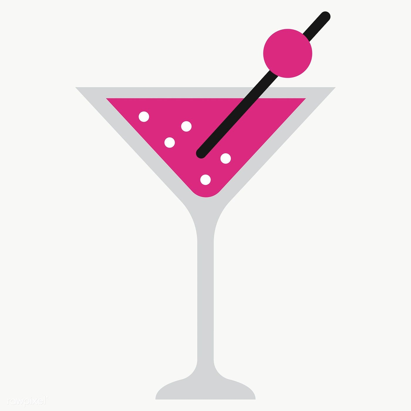 Pink Martini Drink Design Element Transparent Png Free Image By Rawpixel Com Chayanit Drinks Design Martinis Drinks Pink Martini