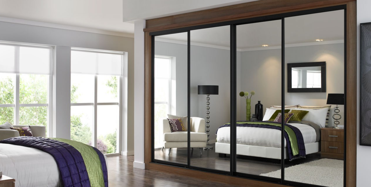 Made to measure sliding wardrobes glass sliding doors mirror - Sliding Mirror Wardrobe Doors Wardrobe With Sliding Doors
