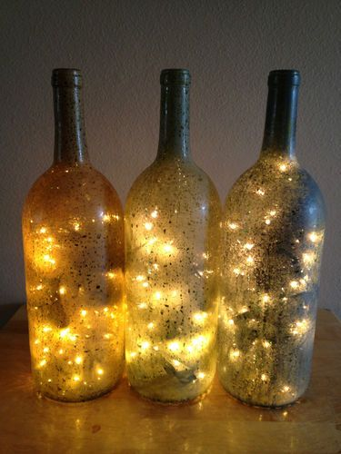 Decorative Light Up Wine Bottle For Home Accents Light Up Wine Bottles Lightup Wine Bottle Lamps Home Decor Lamps And Lights