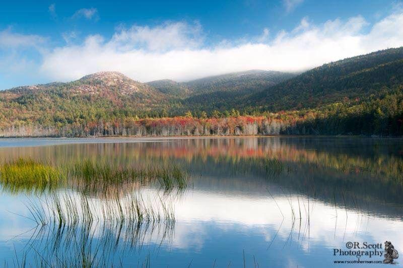 upper Hadlock Pond, Acadia - photo by R.Scott Photography