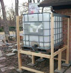 Rainwater Tank Elevated Google Search Rainwater