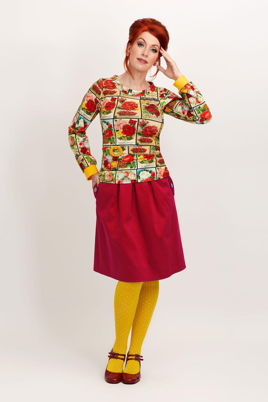 f3438a45b4f6 MARGOT  Marilyn blouse