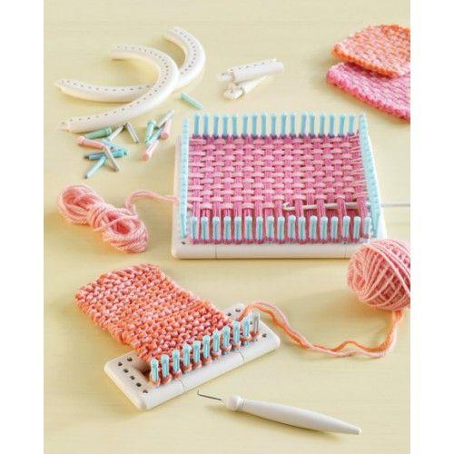 Martha Stewart Knit and Weave Loom Kit   Martha Stewart Knit ad ...