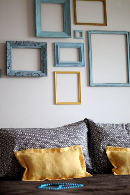 framed wall Wall decor Pinterest Walls, Wall decor and Room ideas