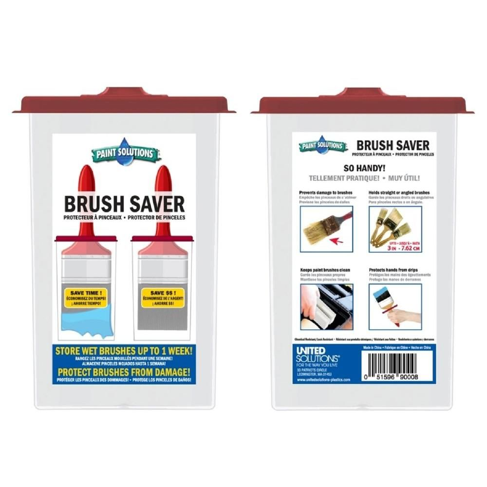 Paint Solutions Paint Brush Saver Paint Brushes Savers Solutions