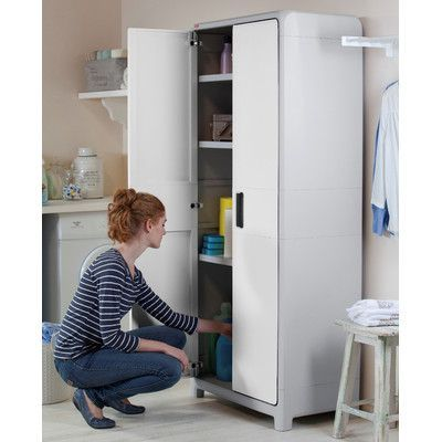 Keter Optima Wonder Tall Plastic Storage Cabinet Products