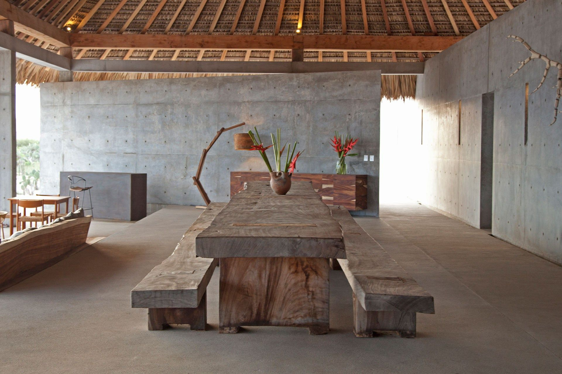 Casa Wabi Foundation by Tadao Ando Minimalist decor