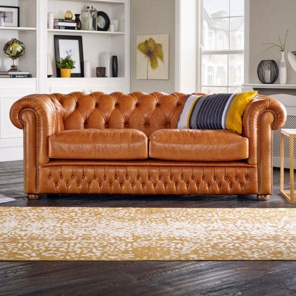 Knightsbridge 3 Seater Sofa From Sofas By Saxon Uk