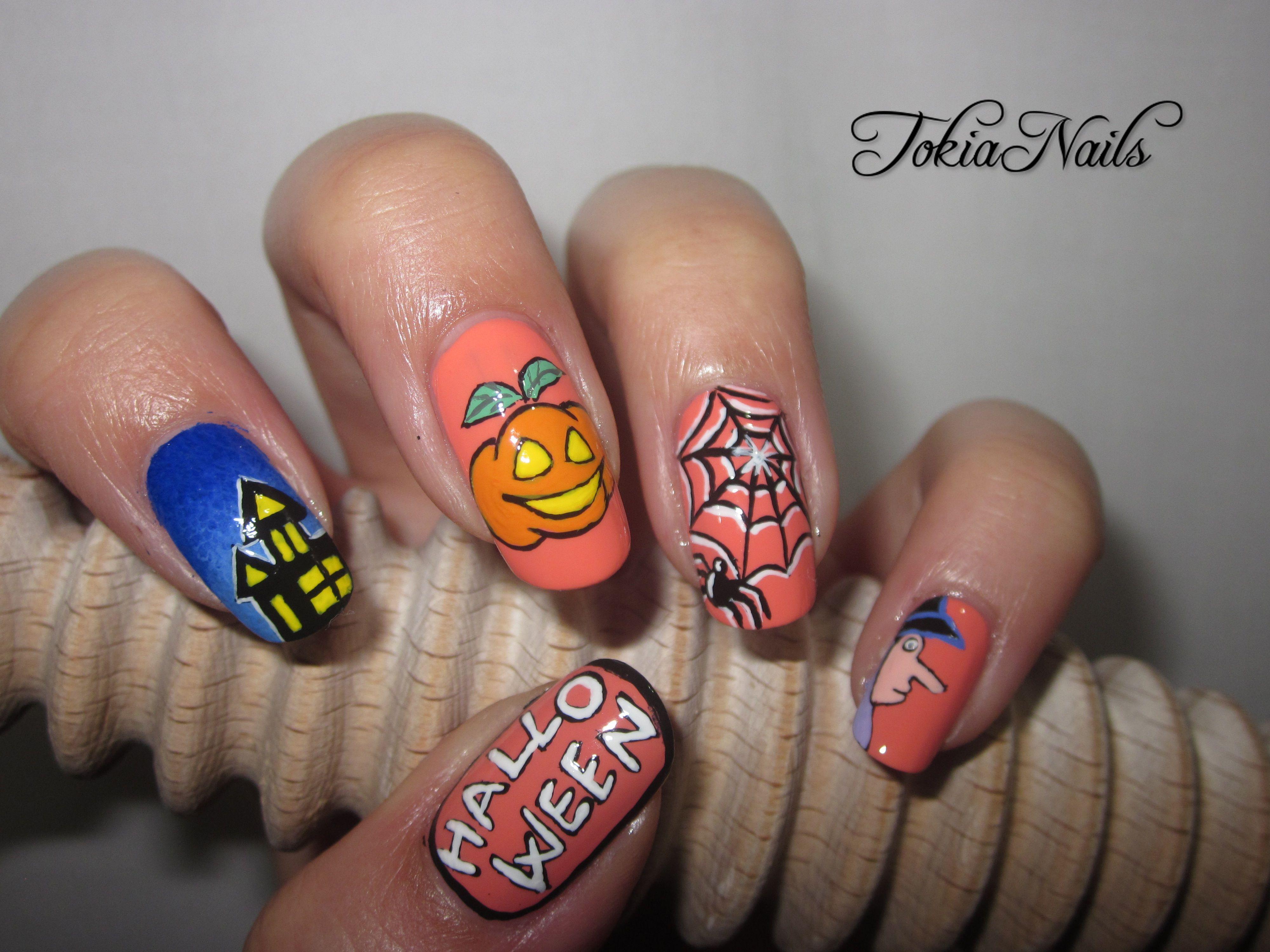 TokiaNails #halloween #nailart #nailpolish #nailpics #nailartdesign ...