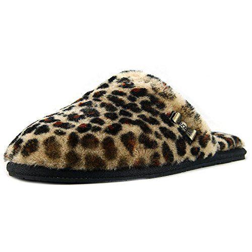 f50341d90fa Best Womens Slippers   UGG Australia Womens Leopard Clog Chestnut ...