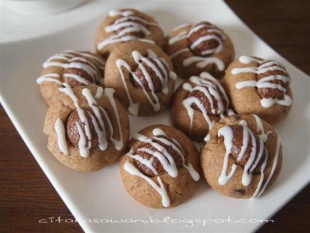 Biskut Coco Crunch Cookies Resepi Terbaik Resep Makanan Makanan Kue Kering