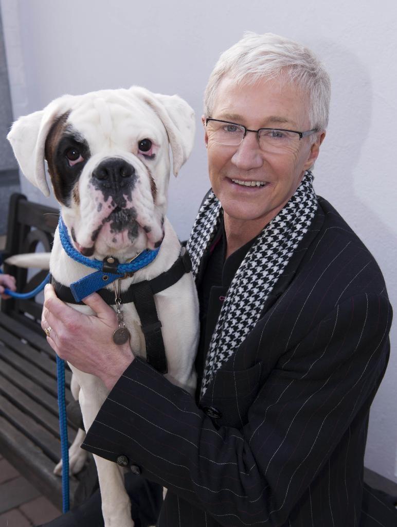 Paul O Grady And Carmine Battersea Dogs Boxer Dogs Battersea