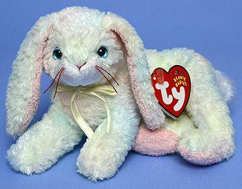 Cottonball - rabbit - Ty Beanie Babies  addf68a9c466
