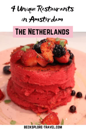 Photo of 4 Unique Restaurants to Eat At in Amsterdam – The Netherlands