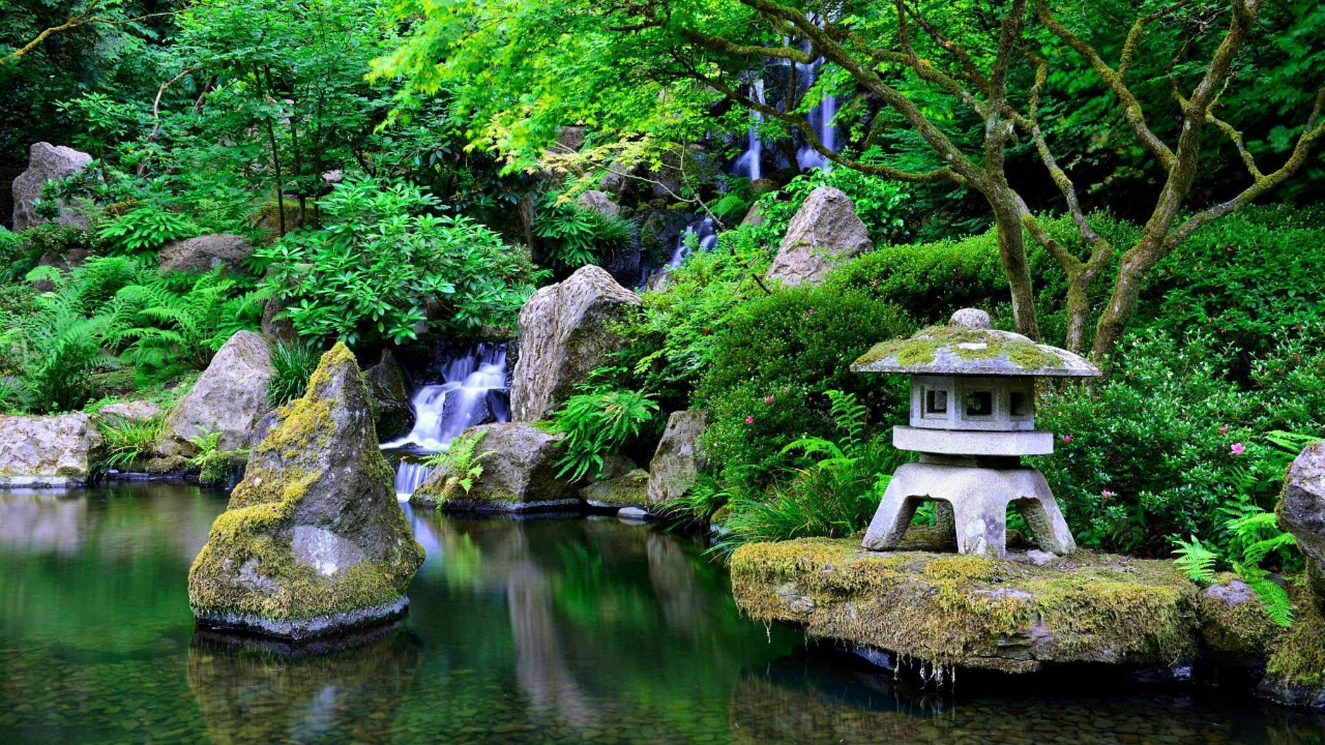 Japanese Garden Wallpaper Images On Wallpaper 1080p Hd Japanese Garden Garden Images Japanese Nature