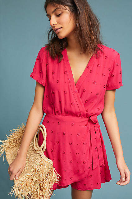 e21f77a85b60 Greenbrier Embroidered Romper   OOTD   Anthropologie clothing ...