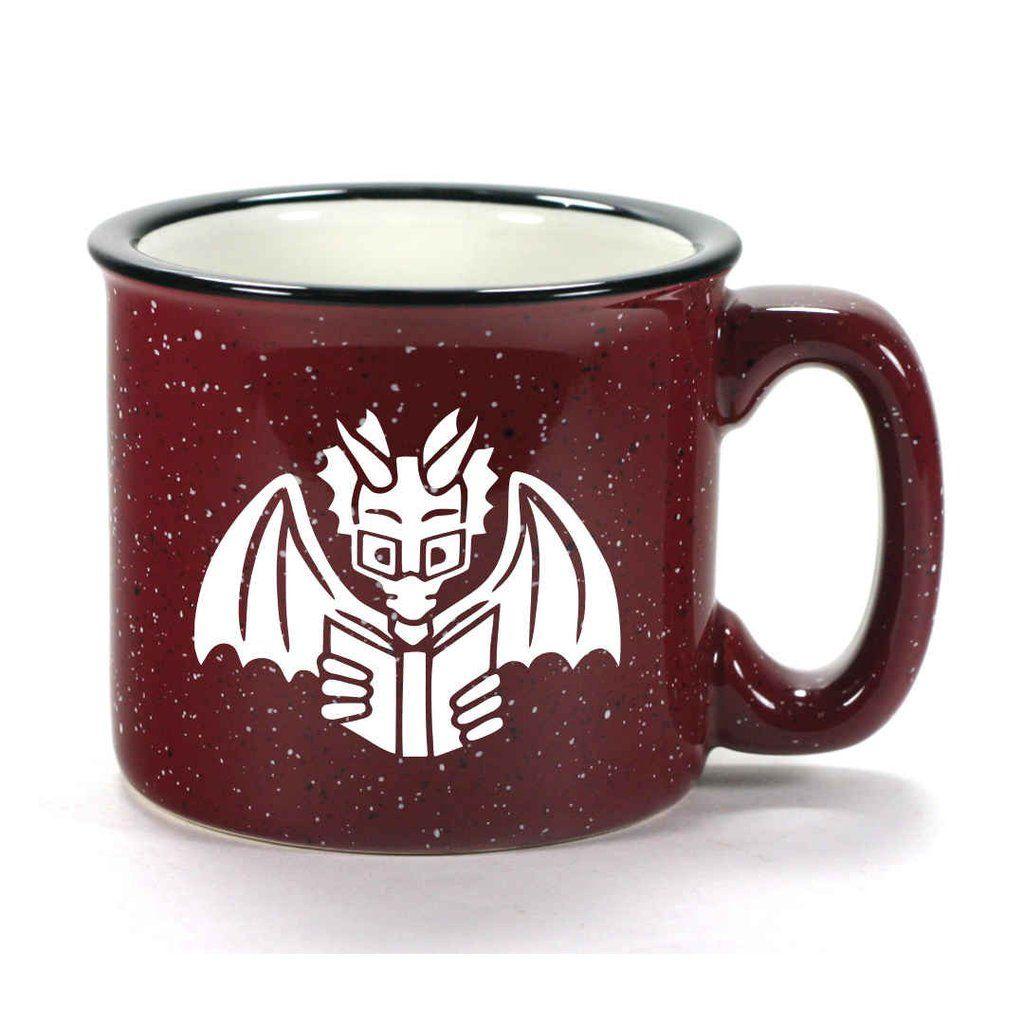 Book dragon mug retired mugs book dragon glazed ceramic
