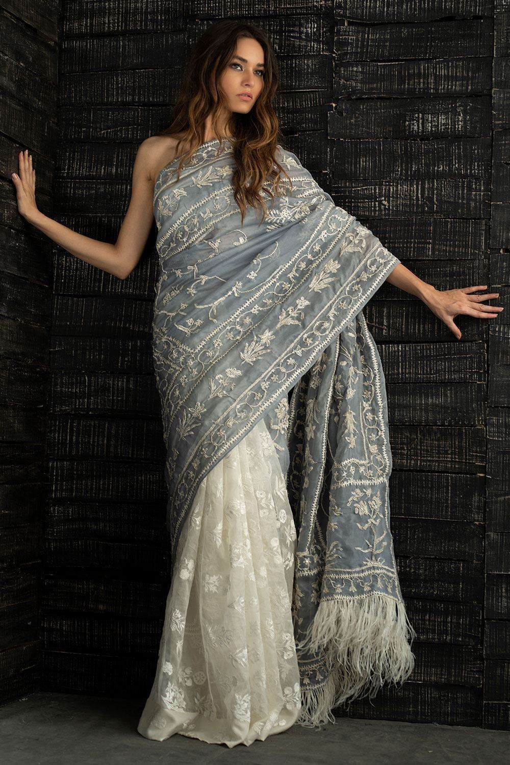 Photo of Fancy Saree for Pakistani and Indian Weddings