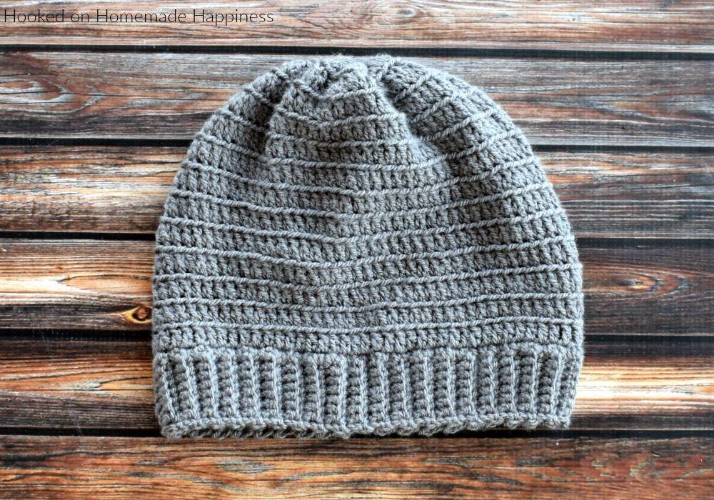 Beginner Bottom Up Beanie Crochet Pattern Cal For A Cause Beanie Crochet Pattern Crochet Mens Hat Pattern Beanie Pattern