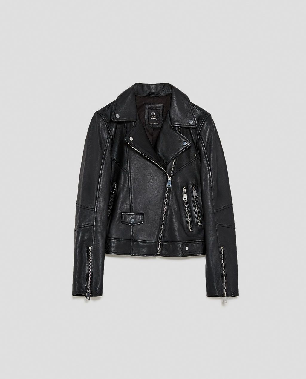 e85ffc568 LEATHER JACKET-View all-JACKETS-TRF | ZARA United States | Fashion ...
