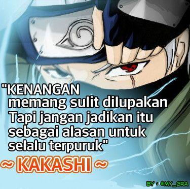 Kata Kata Bijak Naruto Shippuden Kakashi Jpg 375 372 Kata