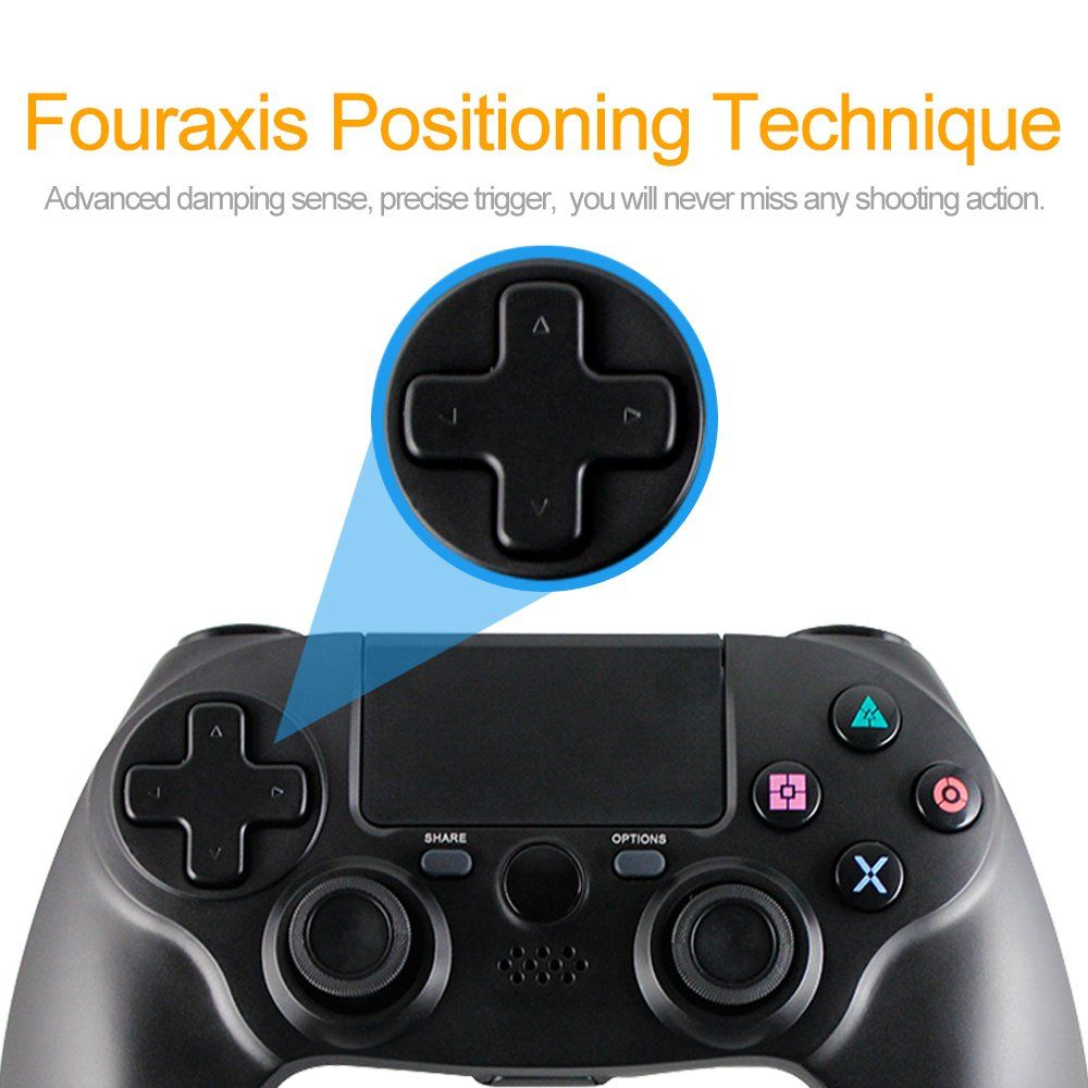 Xfuny New Ps4 Controller Wireless Game Controller For Ps4 Playstation 4 Black Click On The Image For Additional Detail Ps4 Controller Game Controller New Ps4
